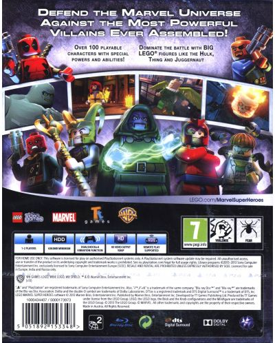 LEGO Marvel Super Heroes (PS4) - 4