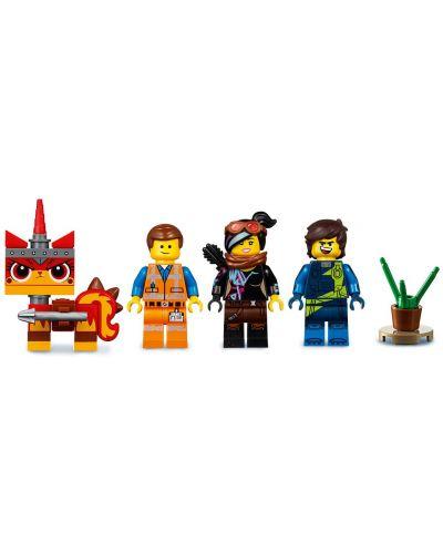 Конструктор Lego Movie 2 - Къща-мечта/ракета за бягство на Емет (70831) - 9