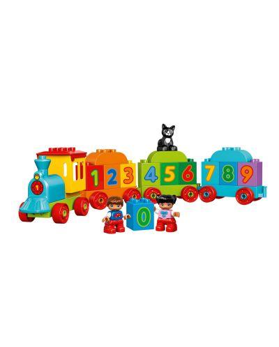 Конструктор Lego Duplo - Влакът на числата (10847) - 5