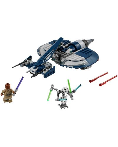 Конструктор Lego Star Wars - Бойният скутер на General Grievous (75199) - 6