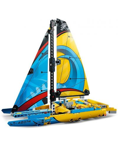 Конструктор Lego Technic - Състезателна яхта (42074) - 8