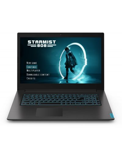 Геймърски лаптоп Lenovo IdeaPad - L340-17IRH, черен - 2