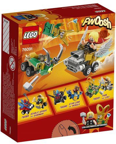 Конструктор Lego Super Heroes - Mighty Micros: Thor vs. Loki (76091) - 5