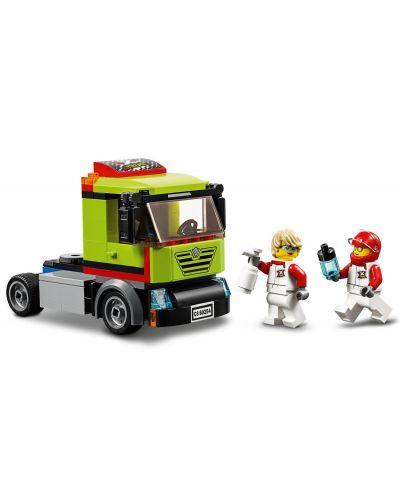 Конструктор Lego City Great Vehicles - Транспортьор на състезателни лодки (60254) - 5
