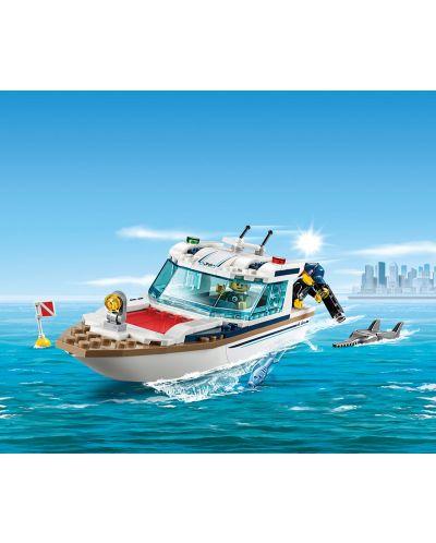Конструктор Lego City - Яхта за гмуркане (60221) - 1