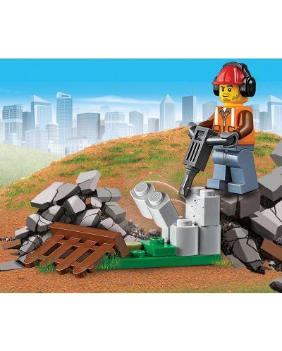 Конструктор Lego City - Строителен товарач (60219) - 3