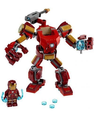 Конструктор Lego Marvel Super Heroes - Iron Man Mech (76140) - 4