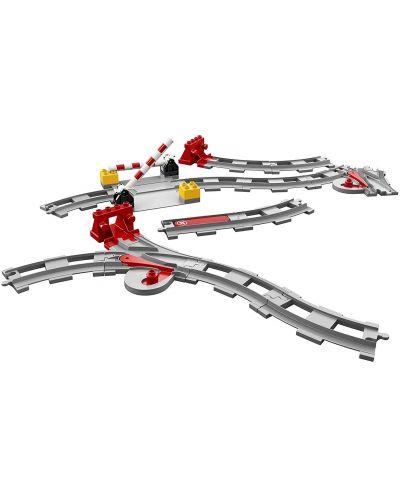 Конструктор Lego Duplo - Релси за влак (10882) - 4