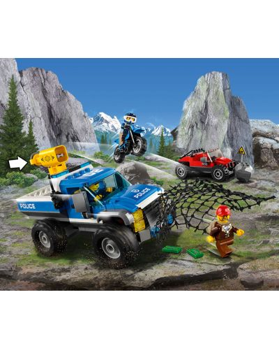 Конструктор Lego City - Преследване по черен път (60172) - 11