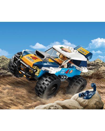 Конструктор Lego City - Кола за пустинно рали (60218) - 3