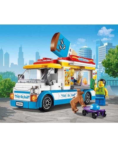 Конструктор Lego City Great Vehicles - Камион за сладолед (60253) - 6