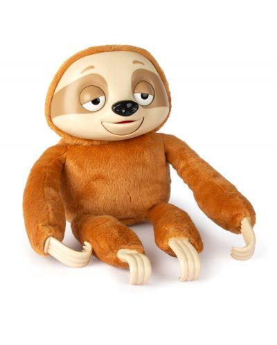 Интерактивна плюшена играчка IMC Toys - Ленивец Mr Slooou - 1