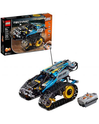 Конструктор Lego Technic - Каскадьорска кола, с дистанционно управление (42095) - 3