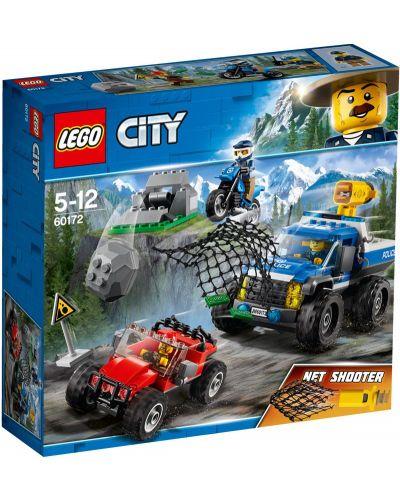 Конструктор Lego City - Преследване по черен път (60172) - 1