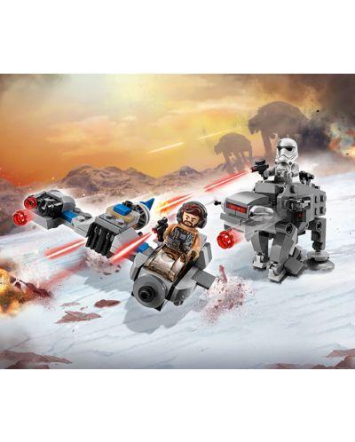 Конструктор Lego Star Wars - Ski Speeder™ vs. First Order Walker™ Microfighter (75195) - 8