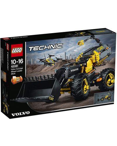 Конструктор Lego Technic - Volvo концепция, колесен товарач (42081) - 3