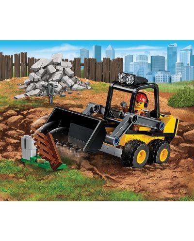 Конструктор Lego City - Строителен товарач (60219) - 4