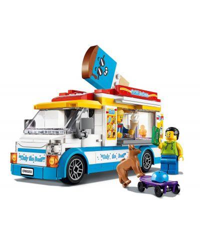 Конструктор Lego City Great Vehicles - Камион за сладолед (60253) - 4
