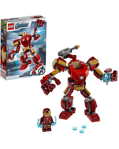 Конструктор Lego Marvel Super Heroes - Iron Man Mech (76140) - 3