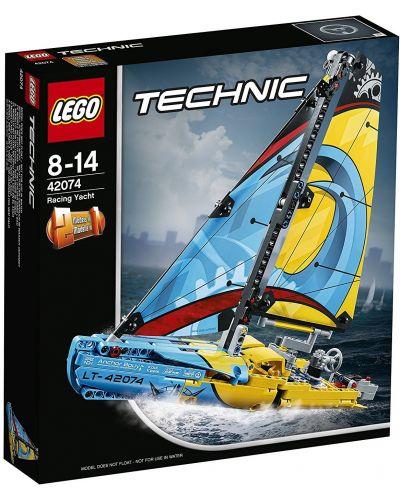 Конструктор Lego Technic - Състезателна яхта (42074) - 1