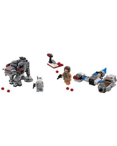 Конструктор Lego Star Wars - Ski Speeder™ vs. First Order Walker™ Microfighter (75195) - 4
