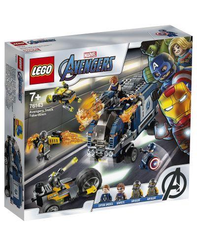 Конструктор Lego Marvel Super Heroes - Avengers: схватка с камион (76143) - 1