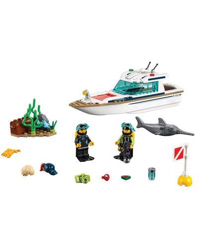 Конструктор Lego City - Яхта за гмуркане (60221) - 6