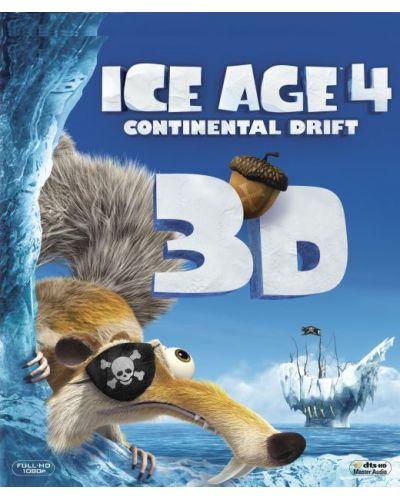 Ледена епоха 4: Континентален дрейф 3D (Blu-Ray) - 1