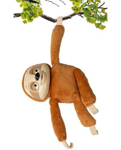 Интерактивна плюшена играчка IMC Toys - Ленивец Mr Slooou - 4