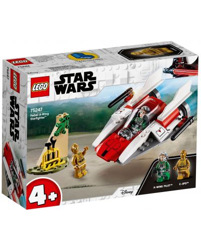 Конструктор Lego Star Wars - Rebel  A-Wing Starfighter (75247) - 1