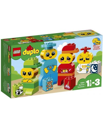 Конструктор Lego Duplo - Моите първи емоции (10861) - 1