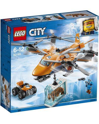 Конструктор Lego City - Арктически въздушен транспортьор (60193) - 1