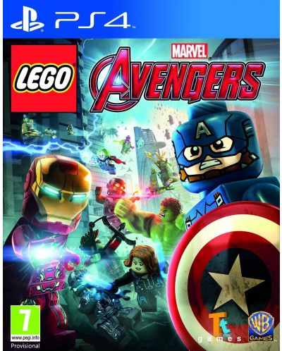LEGO Marvel's Avengers (PS4) - 1