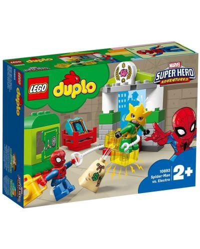 Конструктор Lego Duplo - Spider-Man срещу Electro (10893) - 7
