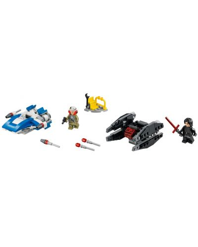 Конструктор Lego Star Wars - A-wing™ vs. TIE Silencer™ Microfighters (75196) - 8