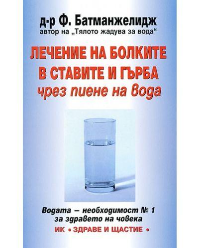Лечение на болките в ставите и гърба чрез пиене на вода - 1