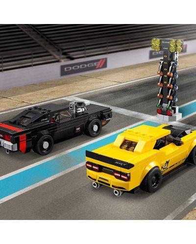Конструктор Lego Speed Champions - 2018 Dodge Challenger SRT Demon и 1970 Dodge Charger R/T (75893) - 4