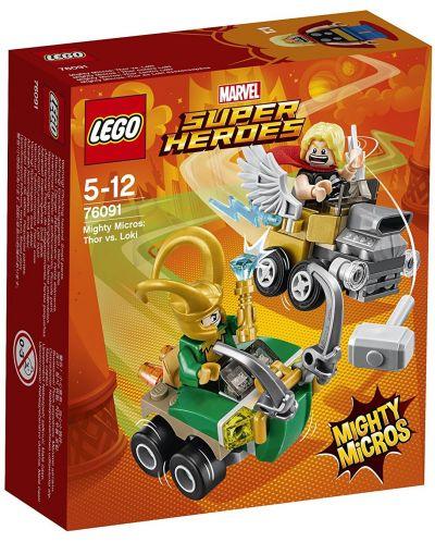 Конструктор Lego Super Heroes - Mighty Micros: Thor vs. Loki (76091) - 1