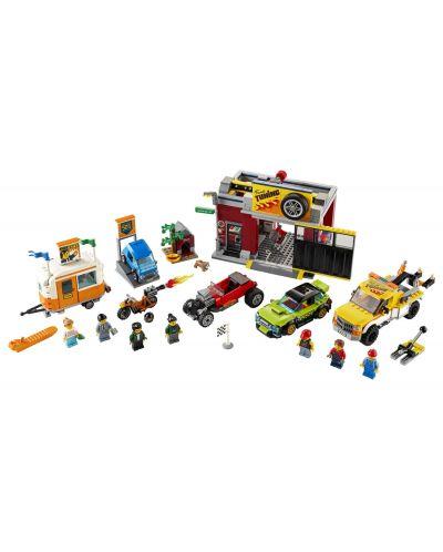 Конструктор Lego City Nitro Wheels - Сервиз за тунинг (60258) - 4