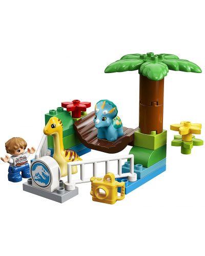 Конструктор Lego Duplo - Зоологическа градина за дружелюбни гиганти (10879) - 3