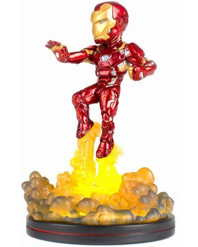 Фигура Q-Fig: Marvel Comics - Light Up Iron Man, 14 cm - 1