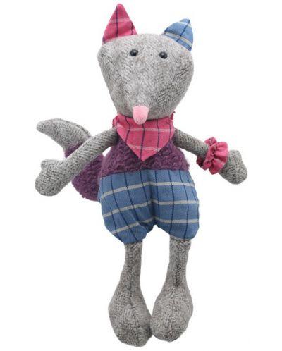 Плюшена играчка The Puppet Company Wilberry Woollies - Лисица, от вълна, 30 cm - 1