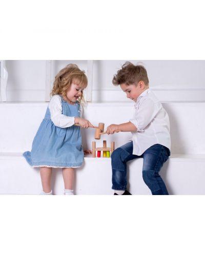 Дървена игра с чукче Lucy&Leo - 5