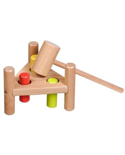 Дървена игра с чукче Lucy&Leo - 3