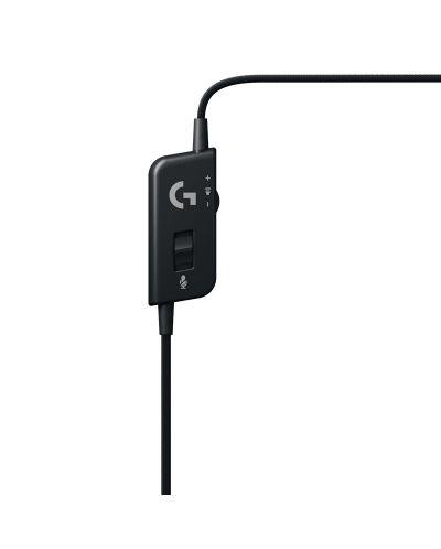 Гейминг слушалки Logitech G231 Prodigy - черни/оранжеви - 5