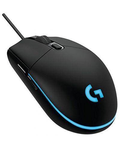 Гейминг мишка Logitech G102 Prodigy - оптична, черна - 1