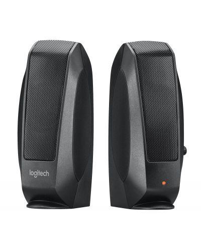Колонки Logitech S120 - 2.0, черни - 1