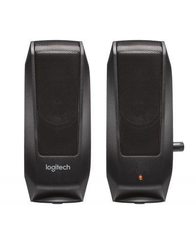 Колонки Logitech S120 - 2.0, черни - 2