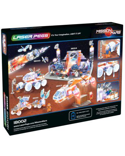 Светещ конструктор Laser Pegs Mission Mars - Марсоход - 3