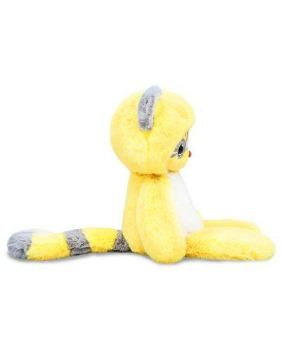 Плюшена играчка Budi Basa Lori Colori  - Ейка, в жълт цвят, 30 cm - 4
